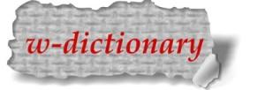 William's dictionary!